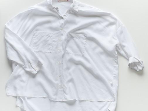 リヨセル Wポケ BIGシャツ